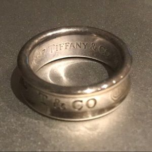 Tiffany & Co. sterling silver band ring